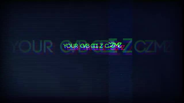 Glitched Out Logo: After Effects Templates