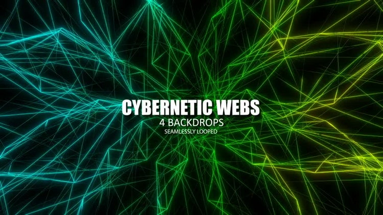 Cybernetic Webs: Stock Motion Graphics