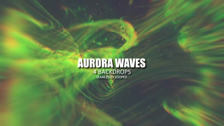 Aurora Waves Pack: Stock Motion Graphics