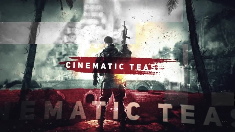 Cinematic Teaser: After Effects Templates