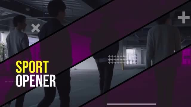 Sport Opener: Premiere Pro Templates
