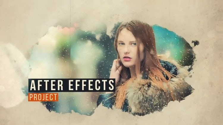 Paint Extract Slide: After Effects Templates