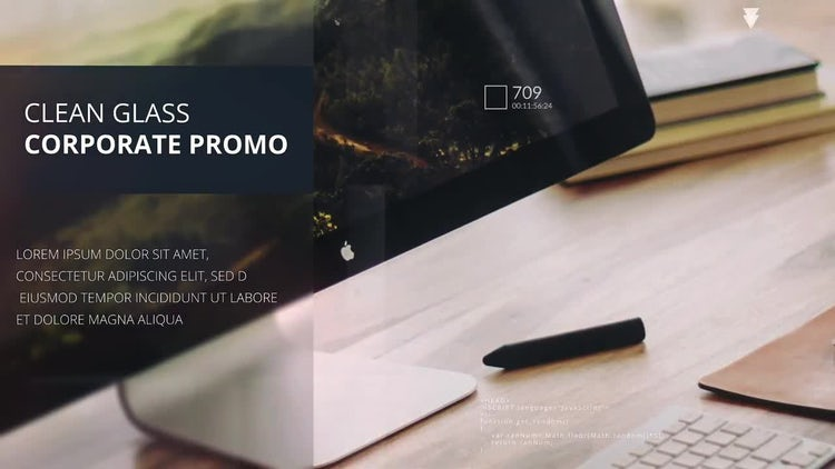 Corporate Glass Slideshow: After Effects Templates