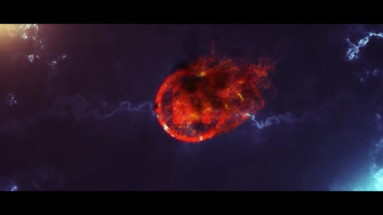 Fire Logo Cinematic: After Effects Templates