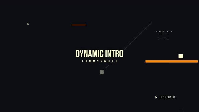 Dynamic Opener: After Effects Templates