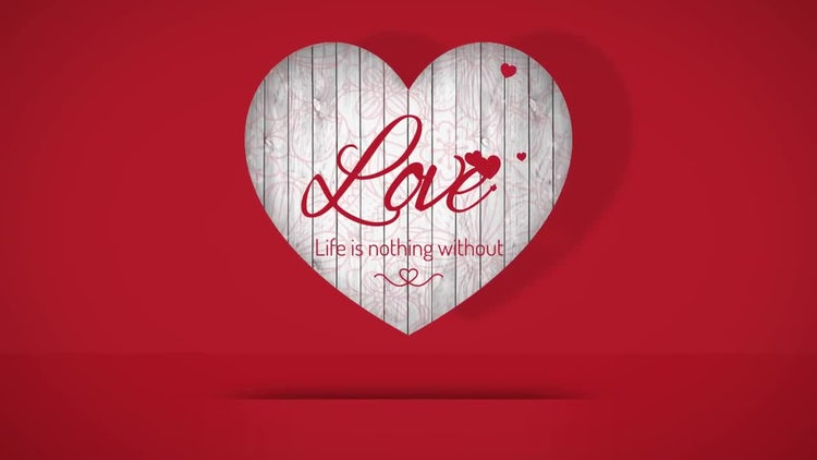 Valentine Hearts: After Effects Templates