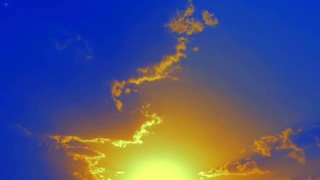 Bright Dawn: Stock Video