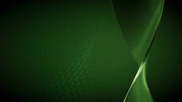 Green Glass Spiral Background: Stock Motion Graphics