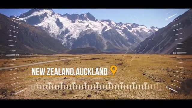 Dynamic Travel Slideshow: After Effects Templates