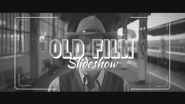 Old Film Slideshow: After Effects Templates