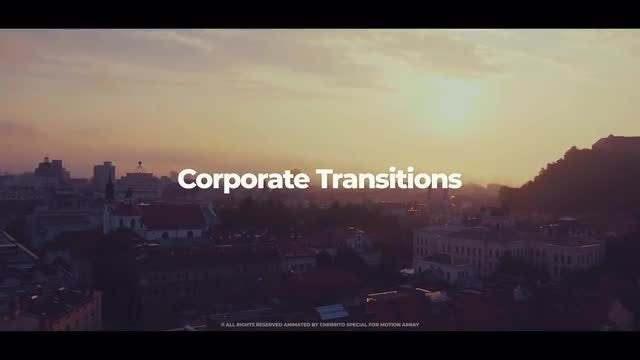 Corporate Transitions: Premiere Pro Templates