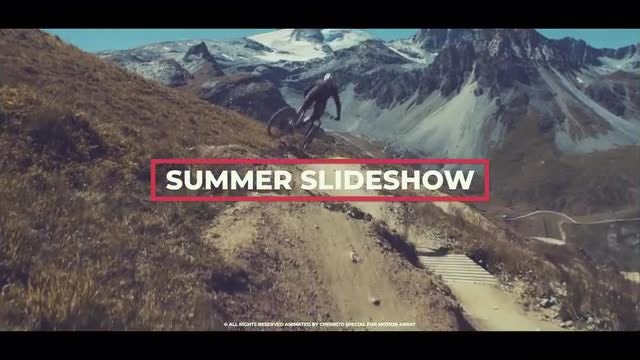 Summer Upbeat Slideshow: Premiere Pro Templates