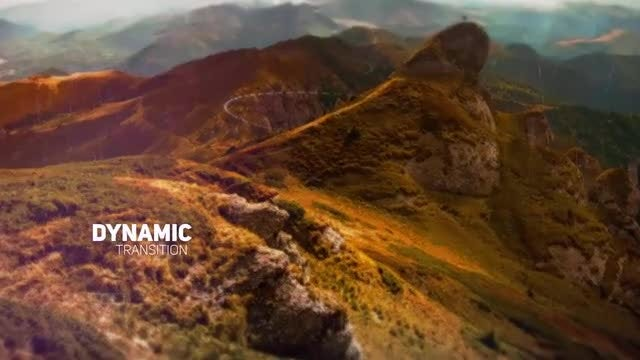 Dynamic Parallax Slideshow: After Effects Templates