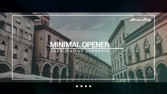 Minimal Opener: After Effects Templates