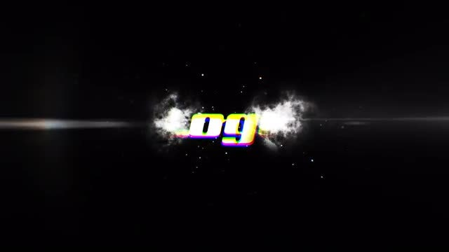 Dark Explosion Logo Reveal: After Effects Templates