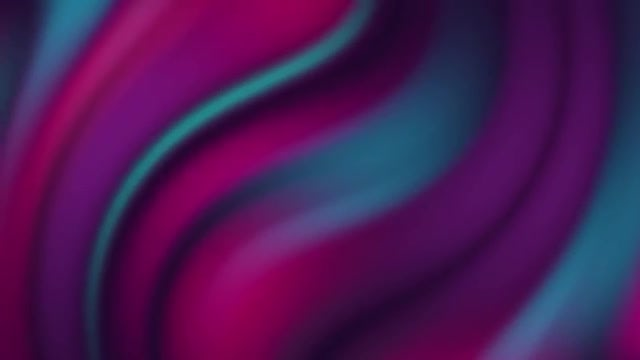 Purple-Teal Curve Gradient Background: Stock Motion Graphics