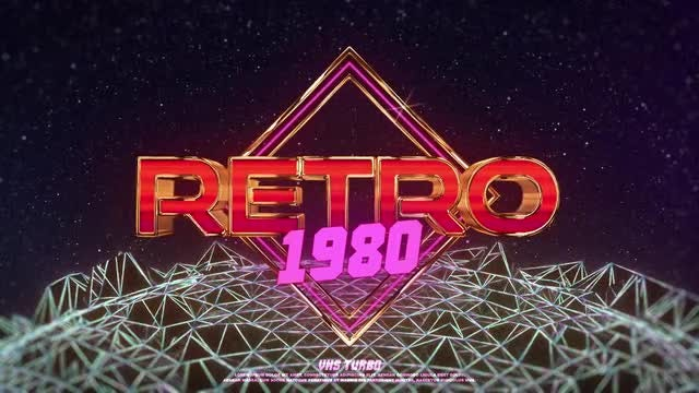Retro VHS Logo: After Effects Templates
