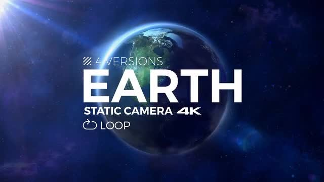 Looping Spinning Earth Pack: Stock Motion Graphics