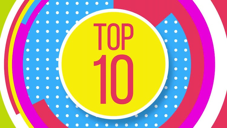 Top 10 Broadcast Package: After Effects Templates