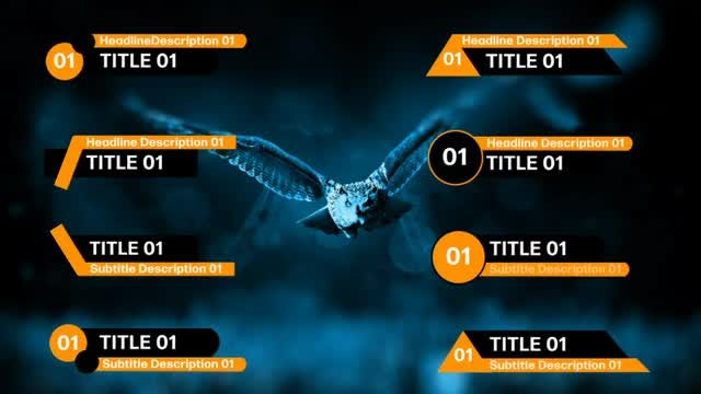 Lower Thirds Pack 01: Motion Graphics Templates