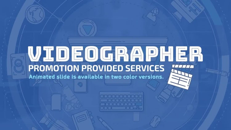 Videographer Promo: After Effects Templates