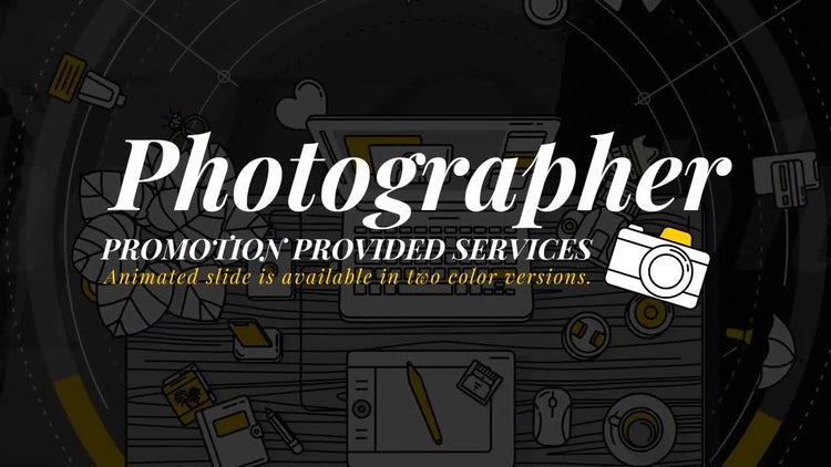 Photographer Promo: After Effects Templates
