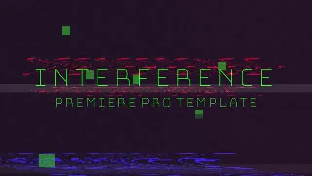 Interference Promo: Premiere Pro Templates