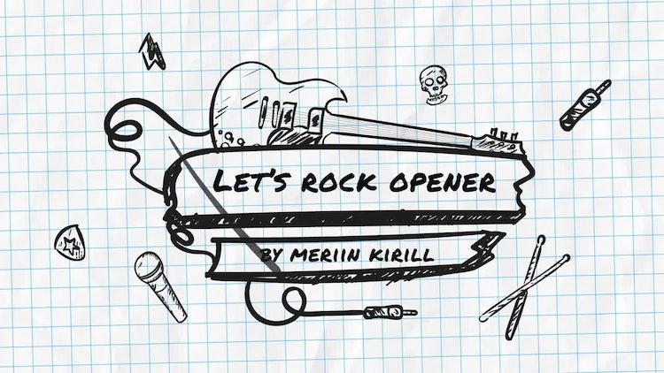 Let's Rock Opener: After Effects Templates