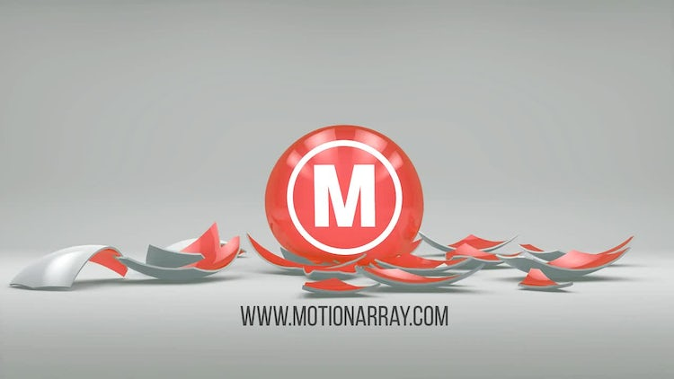 Shatter - Simple Logo Reveal: After Effects Templates