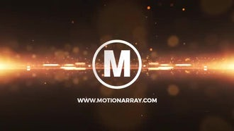 Glitter Particles Logo: Premiere Pro Templates