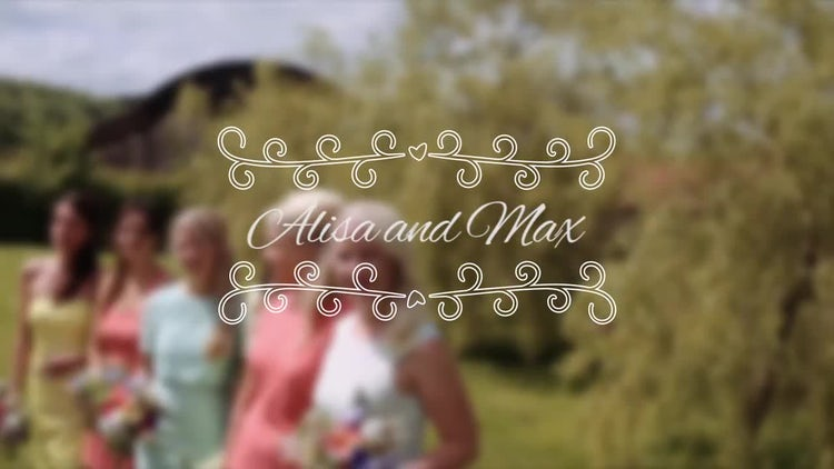 10 Wedding Titles: Premiere Pro Templates