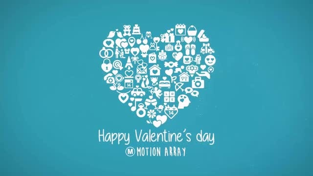 Valentine Collage: After Effects Templates