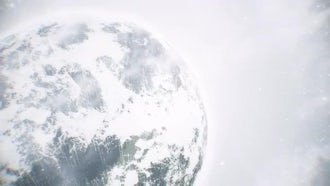Planet loop: Motion Graphics