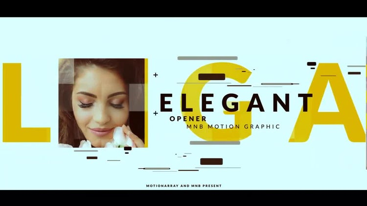 Elegant Intro: After Effects Templates