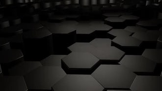 Hexagon Background: Motion Graphics
