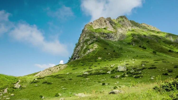 Green Mountain: Stock Video