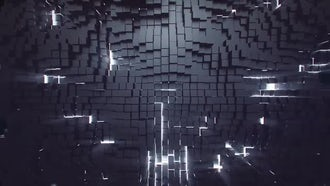 Cube Wall: Motion Graphics