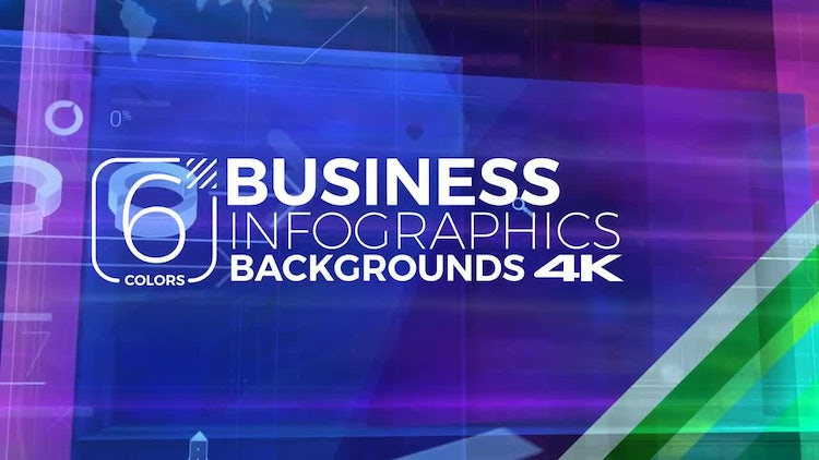 Business Infographic Pack: Stock Motion Graphics