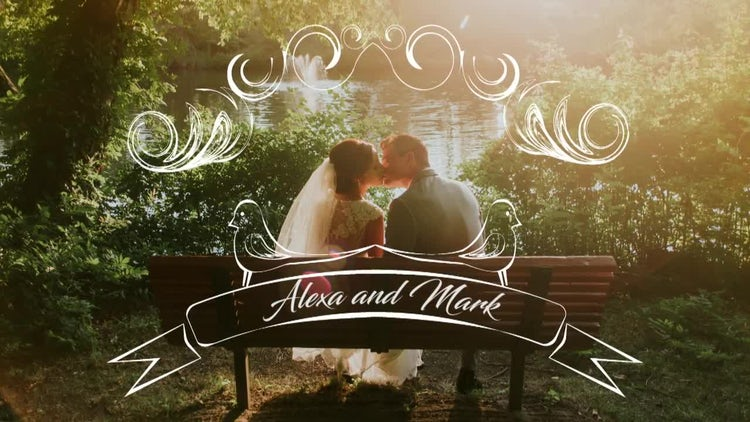 Beautiful Wedding Day: Premiere Pro Templates