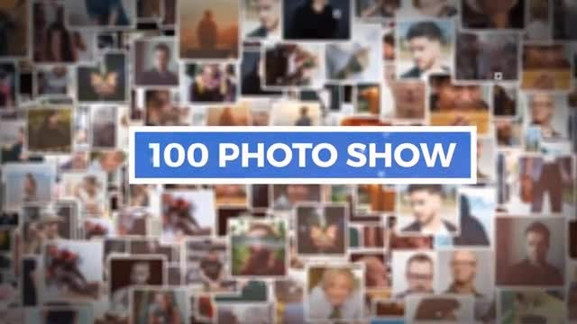 100 Photo Show: After Effects Templates