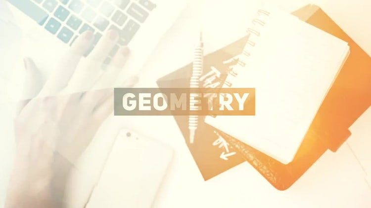 Geometric Slide: After Effects Templates