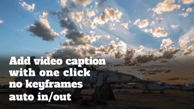 Video Caption Presets: After Effects Presets