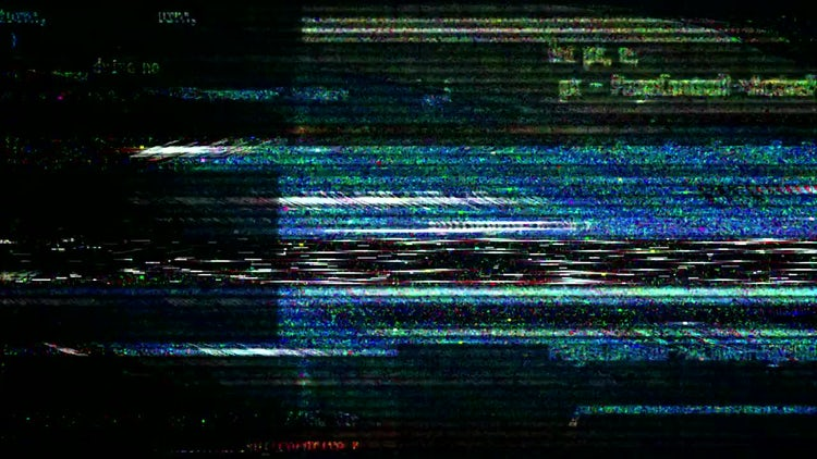 Hackers Glitch: Motion Graphics