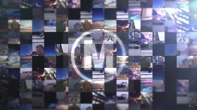 Video Wall Intro: After Effects Templates