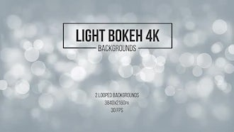 Light Bokeh Backgrounds: Motion Graphics
