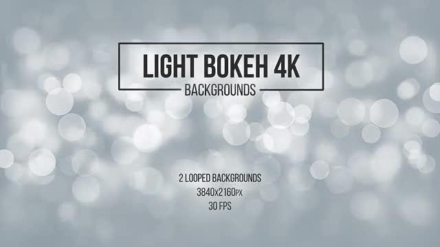 Light Bokeh Backgrounds: Stock Motion Graphics