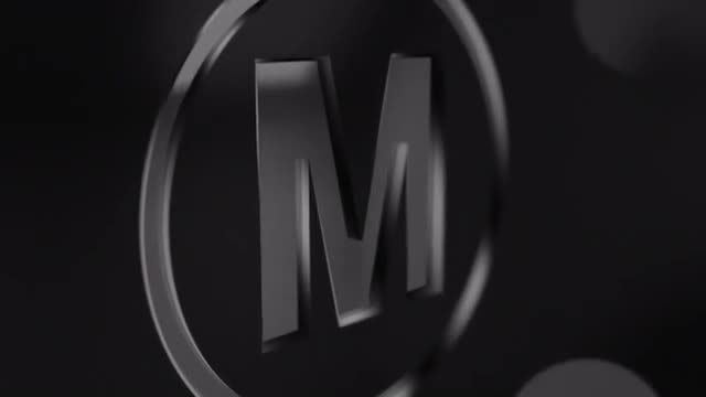 Glossy Logo Reveal: Final Cut Pro Templates