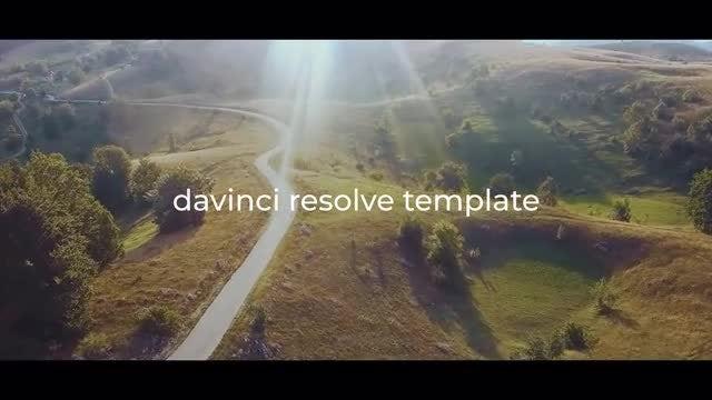 Cinematic Dynamic Opener: DaVinci Resolve Templates