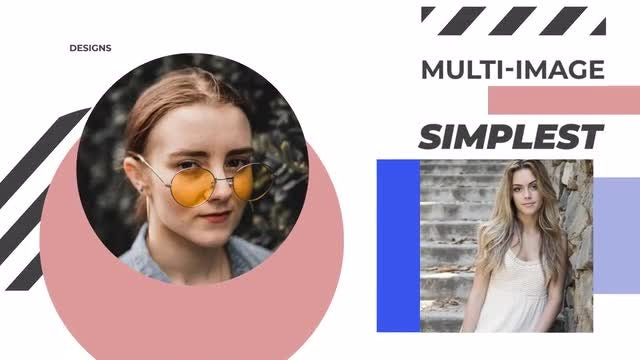 Unique Slideshow Intro: After Effects Templates