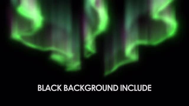 Northern Lights: Stock Motion Graphics